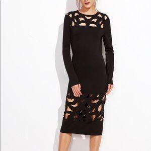 Dresses & Skirts - Laser Cut Pencil Dress